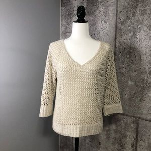Club Monaco Knitted Blouse